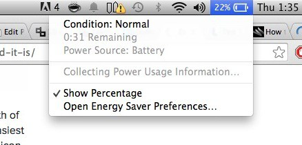 Mac Battery Condition