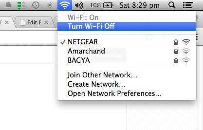 Turn Wi-fi Off - Mac
