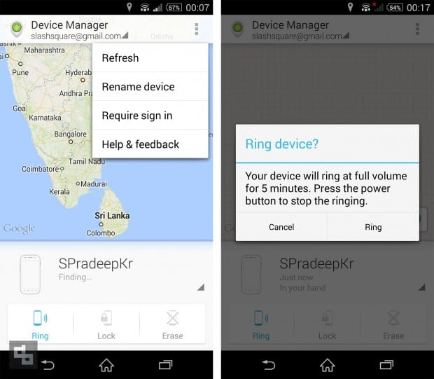 Device Manager Android