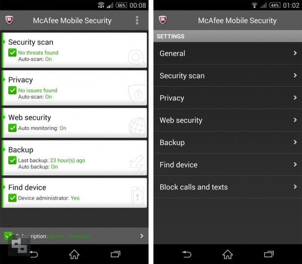 Security Application Android