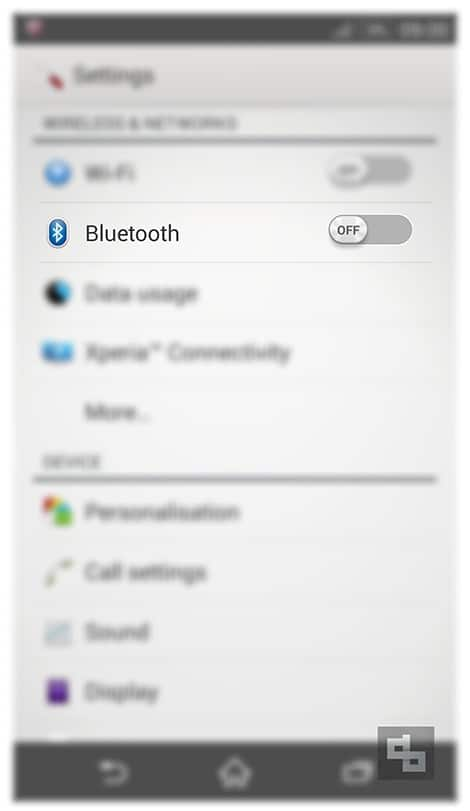 Turn Bluetooth Off Android