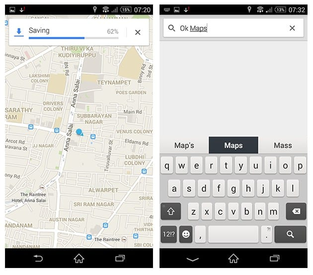 Use Google Maps Offline Mode Android iOS