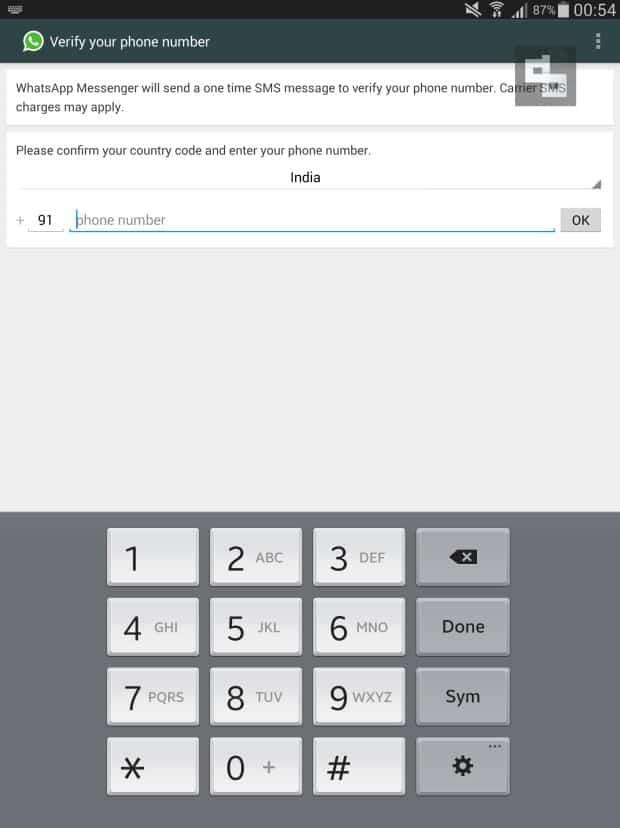 Configure WhatsApp APK