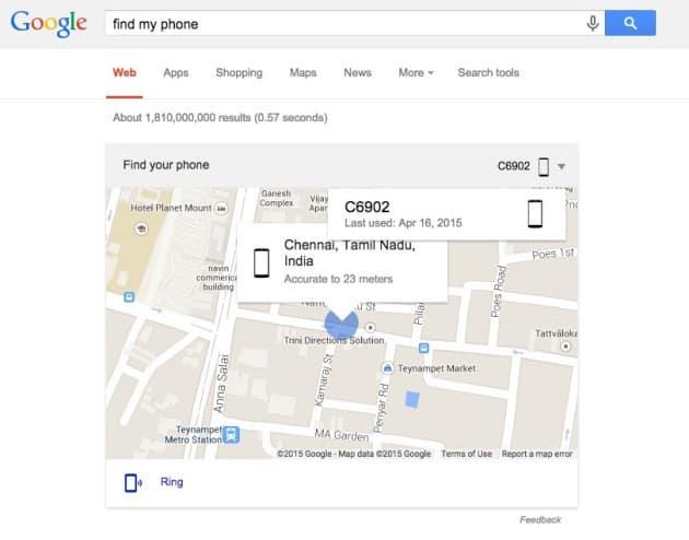 Google My Phone