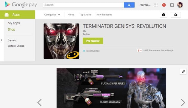 Google Play Now Lets Users Preregister