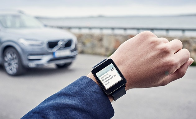 Control Your Car Using Volvo's On Call App (Android Wear & Apple Watch)