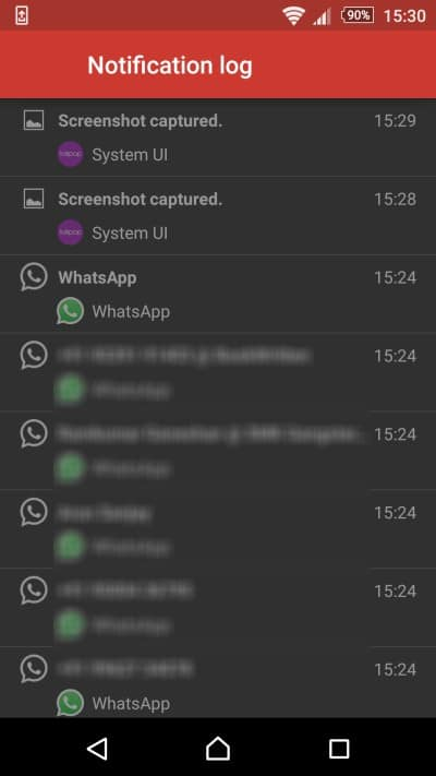 Recover Lost Notifications On Android
