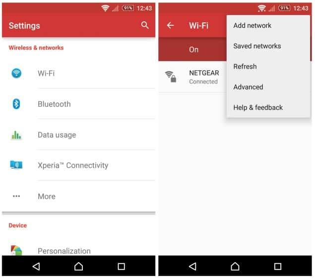 Setting Up A Proxy Server Connection In Android WiFi