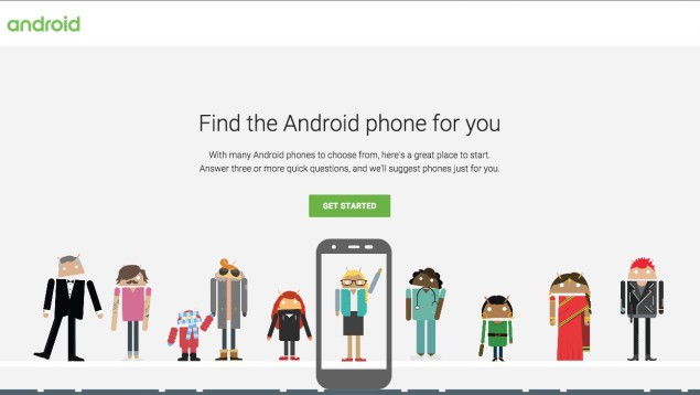 Use Google To Find The Right Android Smartphone