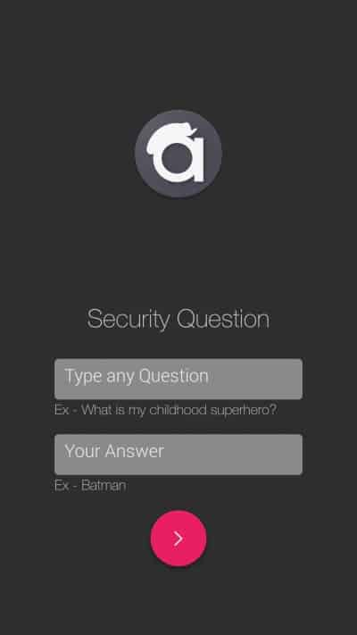 Andrognito 2 Security Question