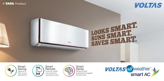 Voltas All Weather smart AC
