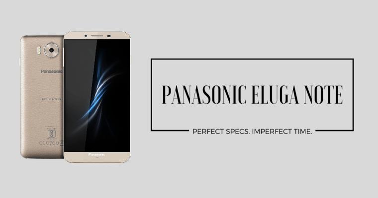 Panasonic Unveils Eluga Note
