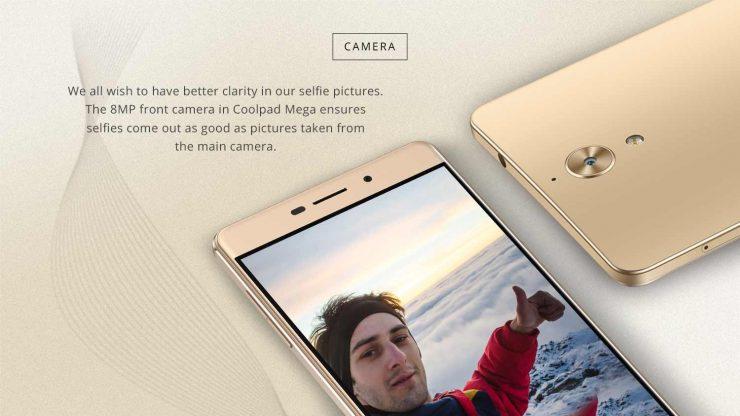 Coolpad Mega 2.5D Selfie Phone